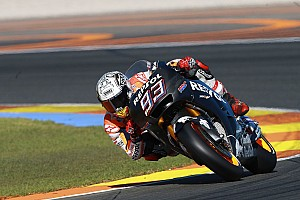 MotoGP Breaking news Marquez says Honda weak points remain after first test day