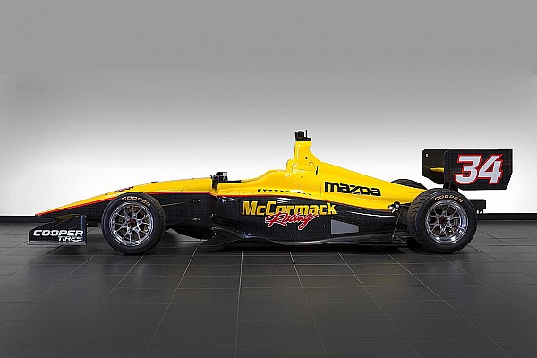 Indy Lights Davey Hamilton Jr. set for Indy Lights ride with McCormack