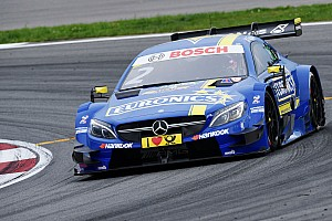 DTM Qualifying report Moscow DTM: Paffett heads Mercedes 1-2-3-4 in wet Saturday qualifying