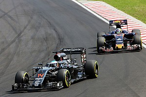 Sainz: McLaren's rate of development