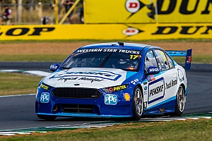 Supercars Practice report Ipswich Supercars: Whincup fastest, Pye crashes hard