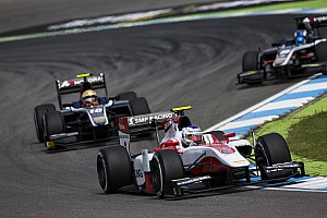 GP2 Qualifying report Hockenheim GP2: Sirotkin beats Gasly to pole by 0.016s