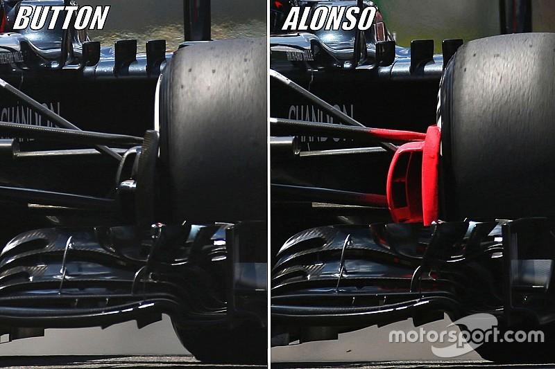 Brazilian GP tech debrief: McLaren continues 2017 experiments