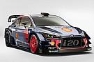 WRC Bildergalerie: Hyundai präsentiert i20 für WRC 2017