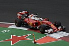 Vettel rues lost chance of Ferrari front row start