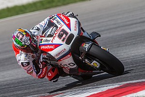 MotoGP Testing report Petrucci leads second day of Sepang MotoGP test amid tyre drama