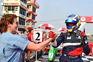 Другие Формулы Новость Троицкий доволен третьим местом по итогам MRF Challenge