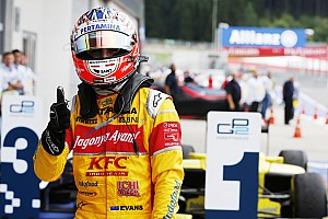 GP2 Race report Red Bull Ring GP2: Evans triumphs in crazy mixed-weather race