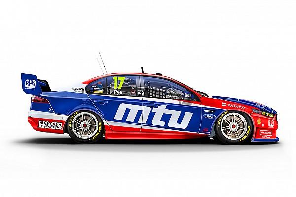 V8 Supercars Penske back to MTU colours for Perth