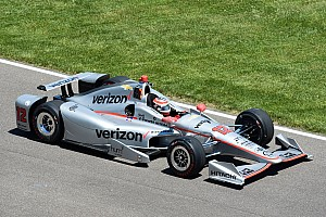IndyCar Practice report Power and Newgarden close Fast Friday with 232mph laps
