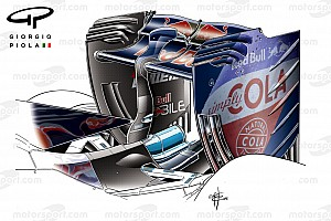 Formula 1 Breaking news Chinese GP tech debrief: Toro Rosso's new rear wing