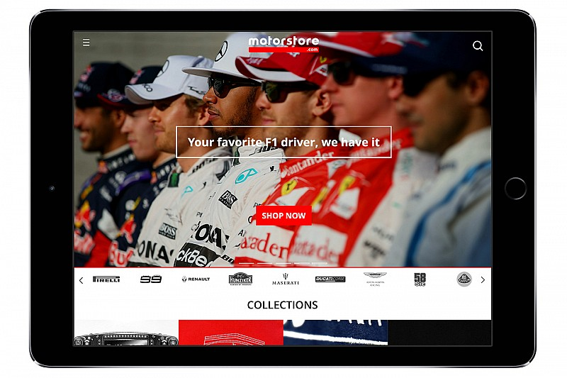 Motorsport.com推出全球赛车商品电商平台Motorstore.com
