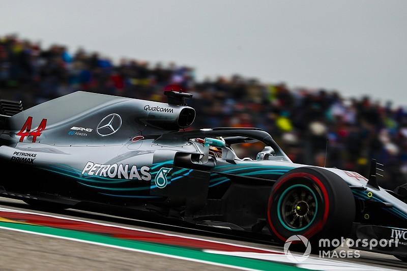 Mercedes cambia las bombas de agua de ambos coches tras encontrar problemas