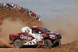 Ралли-рейды Отчет о гонке Аль-Аттия вырвал победу на последнем этапе Бахи Арагон