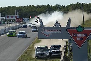 NASCAR Truck Interview Nemechek on riding with Custer: