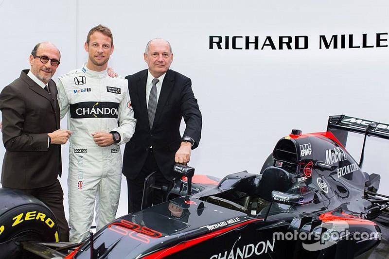 麦卡伦签约新腕表赞助商Richard Mille