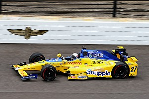 IndyCar Breaking news Andretti drivers cautious about impressive first day