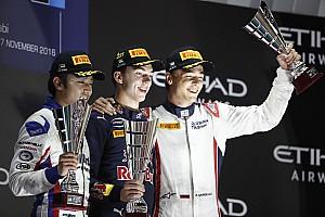 GP2 Yarış raporu Abu Dhabi GP2: İlk yarışın galibi Pierre Gasly