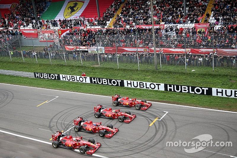 Il Ferrari Show infiamma le tribune di Monza per la chiusura delle Finali Mondiali