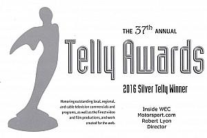 Motorsport.com удостоен нескольких премий Telly за лучшее веб-шоу