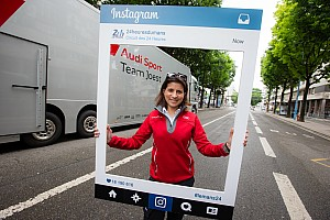 WEC Special feature Audi stars pay tribute to former engineerLeenaGade