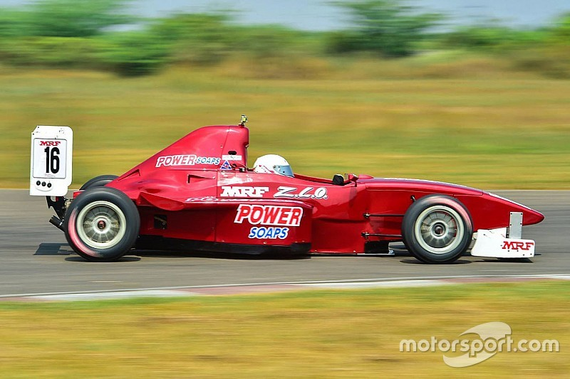 Chennai II MRF F1600: Tharani stays on top in final practice