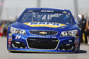 NASCAR Sprint Cup Practice report Rookie Chase Elliott quickest in final Cup practice