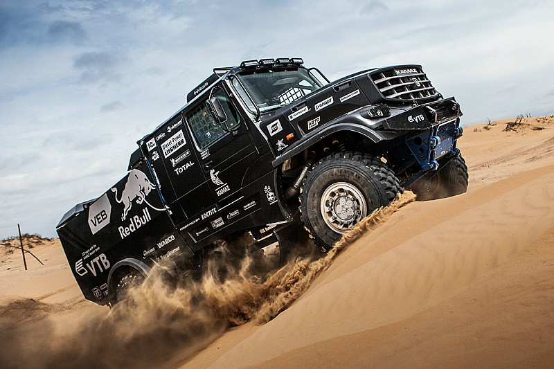 From Russia with love…Kamaz new cab truck will make a first ...
