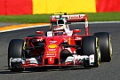 Belgian GP: Raikkonen quickest in FP3, problems for Verstappen