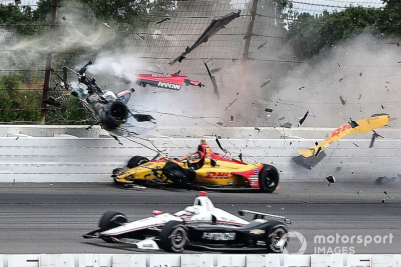 Indycar IndyCar : Robert Wickens impliqué dans un accident violent