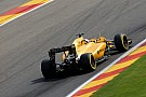 Magnussen suffered cut ankle in Belgian GP crash