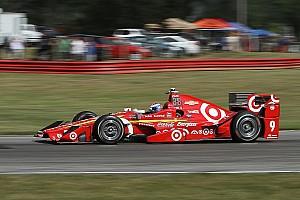 IndyCar Отчет о тренировке Диксон – быстрейший в первой тренировке