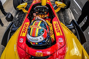 IndyCar Breaking news Herta, Hunter-Reay undecided over IndyCar cockpit protection