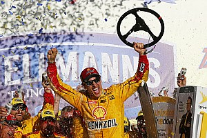 NASCAR Sprint Cup Breaking news Logano wins at Talladega as four drivers are eliminated from the Chase