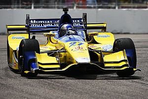 IndyCar Breaking news Andretti puzzled by tire behavior at St. Pete