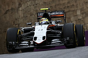 Formula 1 Practice report Sahara Force India enjoyed a competitive opening day of practice in Baku