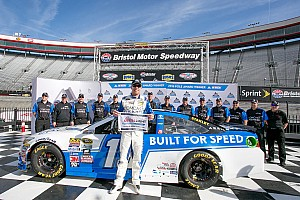 NASCAR Sprint Cup Qualifying report Carl Edwards secures second straight pole with Bristol flyer