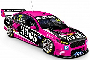 Supercars Breaking news Coulthard turns pink for Townsville