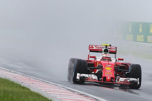 Formula 1 Ferrari drivers call for better wet tyres