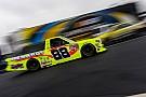 NASCAR Truck After shop fire, ThorSport