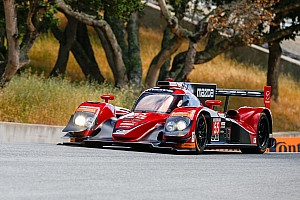 IMSA Practice report Mazda tops practice at its 'own' track
