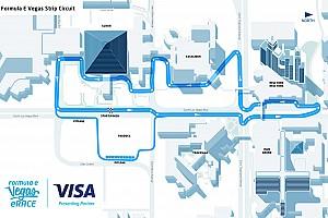 Formula E Preview Video, ecco la pista virtuale da 5 km della VISA Vegas eRace