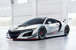 PWC Breaking news Acura NSX GT3 to make PWC test debut tomorrow