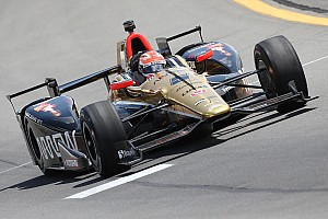 IndyCar Breaking news Hinchcliffe, Aleshin credit team with promising oval runs