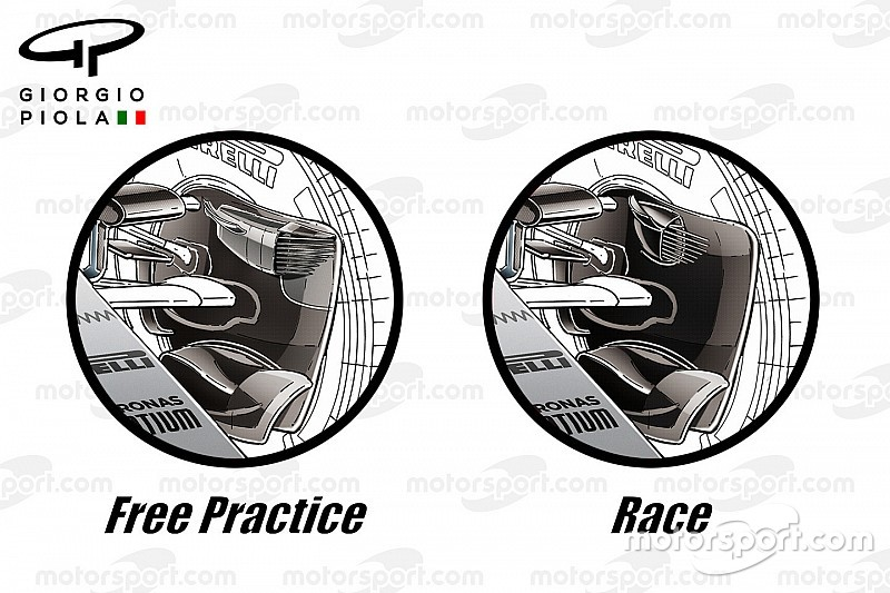 Tech Analysis: How F1 teams coped with Singapore's brakes challenge