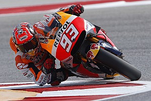MotoGP Practice report Austin MotoGP: Marquez crashes but stays on top in FP2