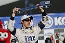Keselowski fights back from speeding penalty to win at Las Vegas