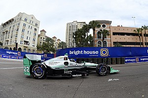IndyCar Practice report Pagenaud fastest in St. Pete practice, as Power shunts