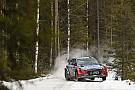 WRC Sweden WRC: Paddon closes the gap on Ogier, Camilli rolls