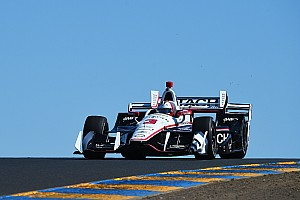 IndyCar Practice report Castroneves leads Penske domination at Sonoma
